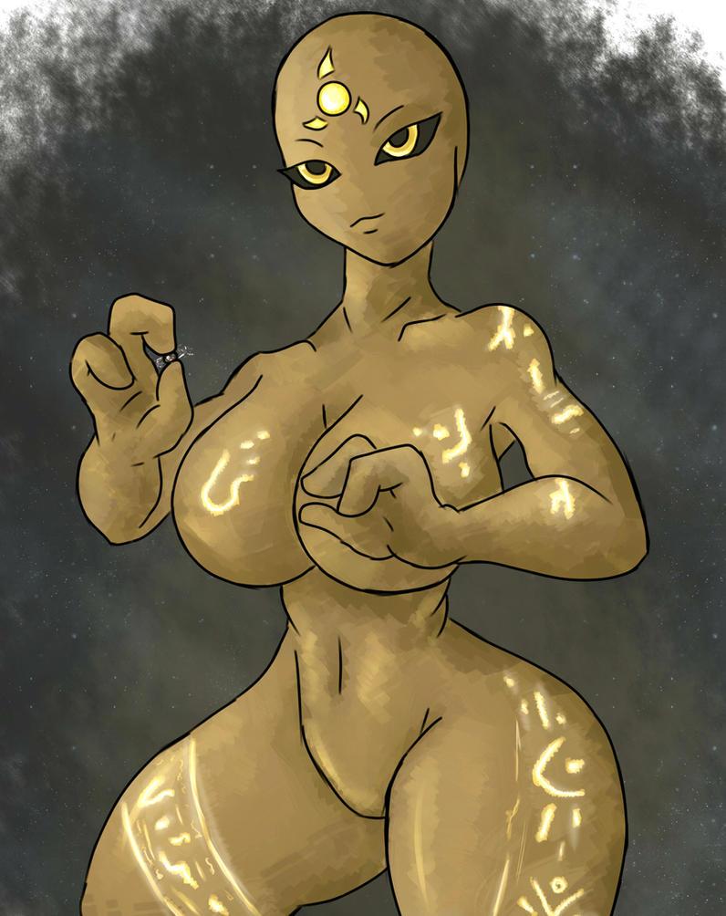 Giantess Draw - UNI-VERITAS by Colonel-Gabbo
