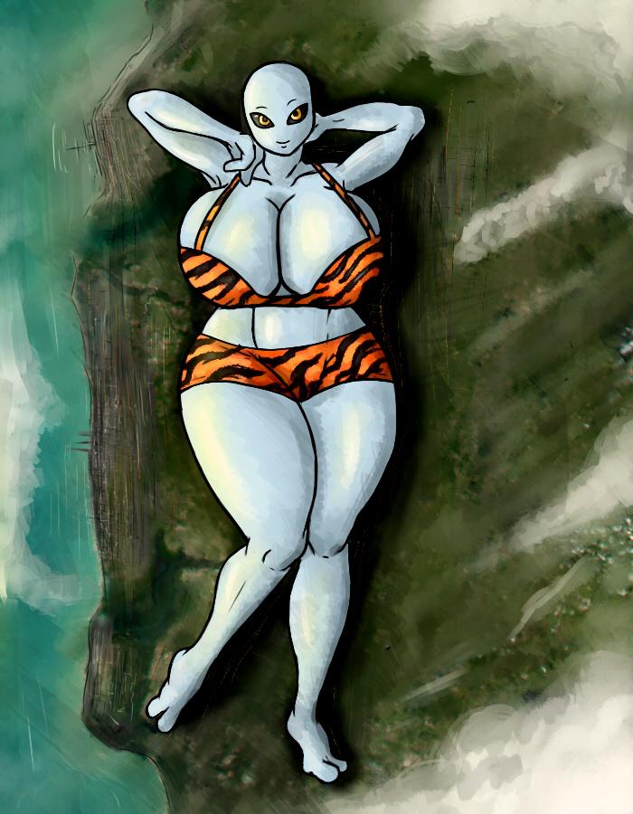 Giantess Draw - UNI-MOM by Colonel-Gabbo