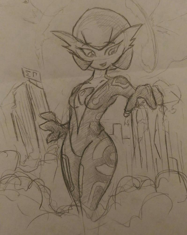 Break Sketch #12 - Another Gardevoir by Colonel-Gabbo