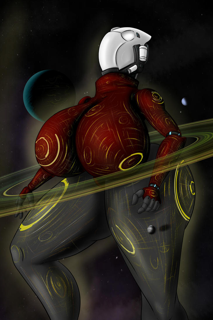 Gaia,The Civilization Carrier (in Red) by Colonel-Gabbo