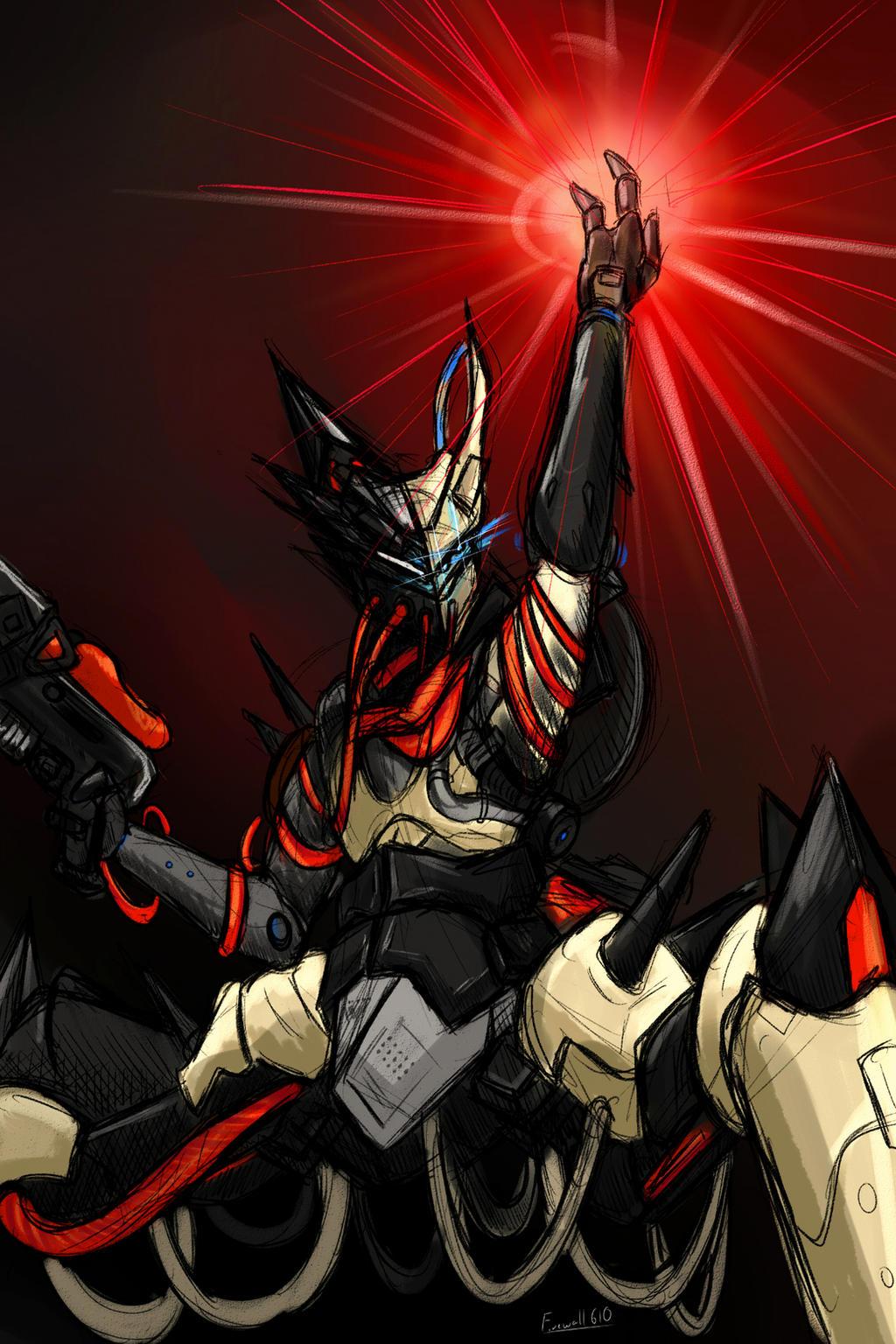 Aksis,Archon Prime by Colonel-Gabbo
