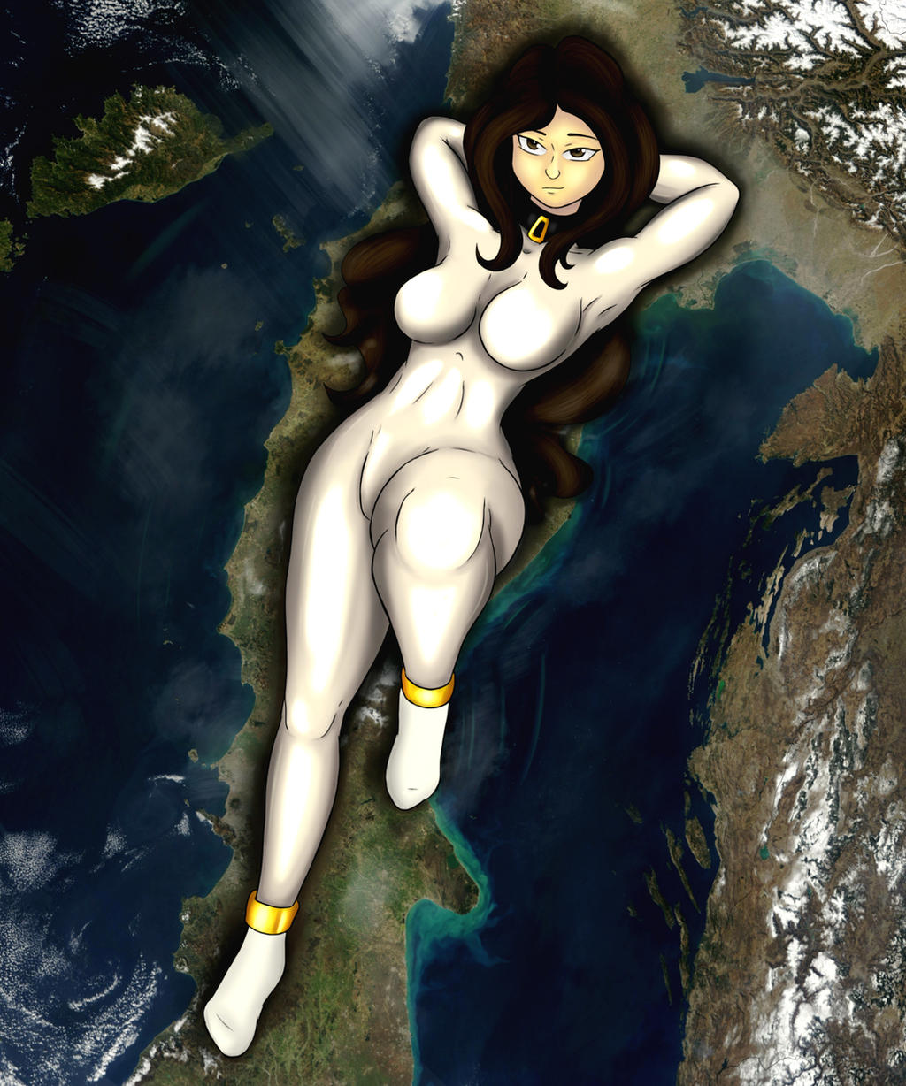 Giantess Draw - Italian Dakimakura by Colonel-Gabbo