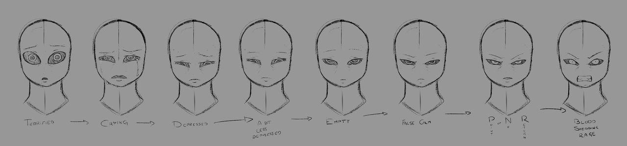 Break Sketch #84 - Expression Evolution