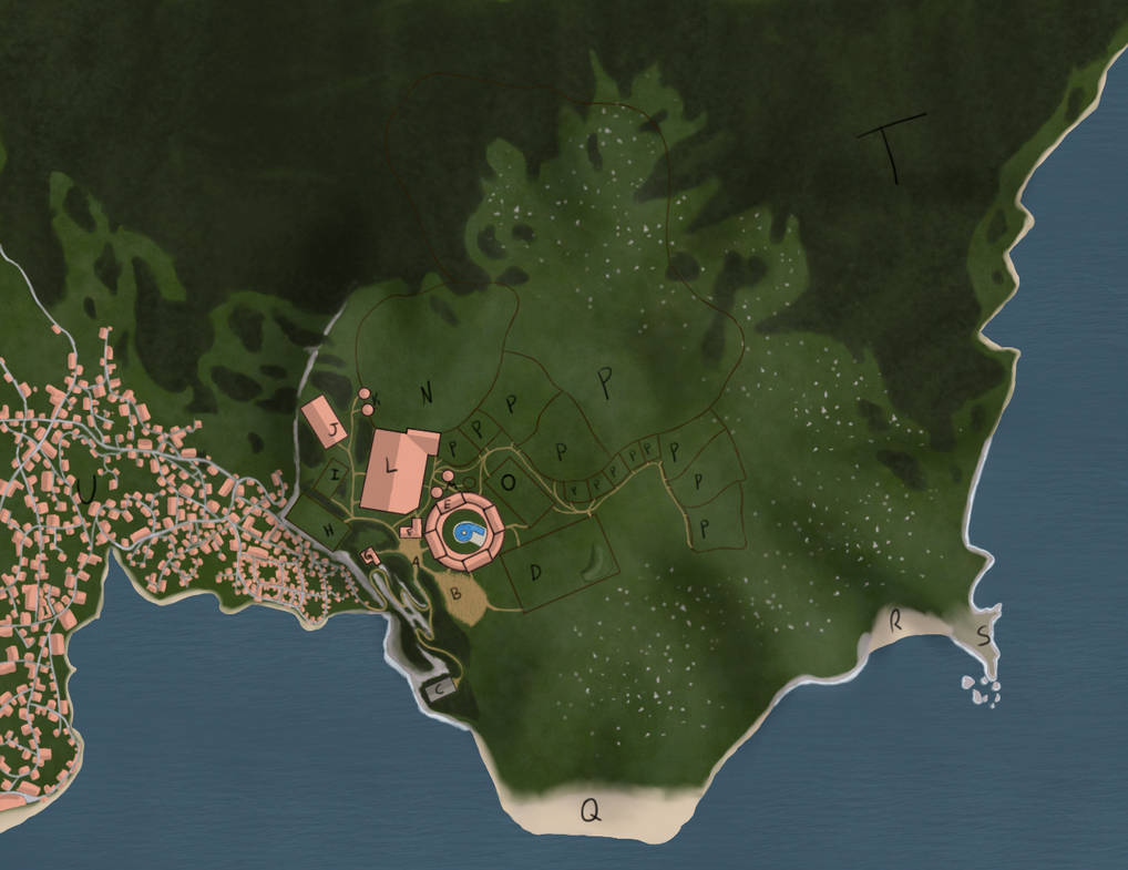 Escola Arousa Mapa/Map by Spotted-Tabby-Cat