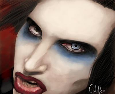 Marilyn Manson by RedSmile77