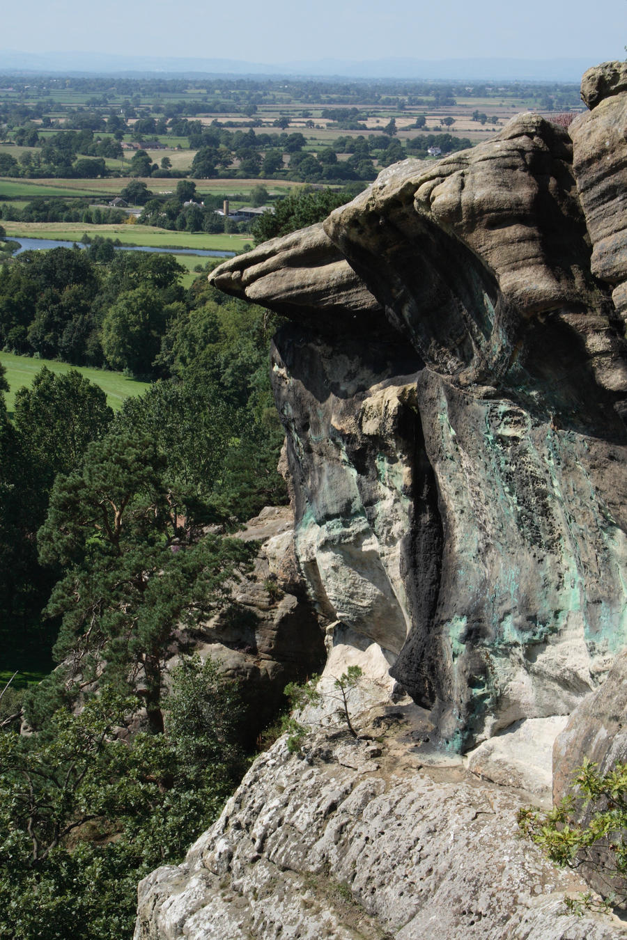 Shear Cliff Stock by XerStock