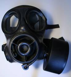 Gas Mask with Respirator Stock