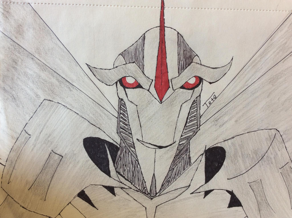Starscream (colored) by TheSepticRaven