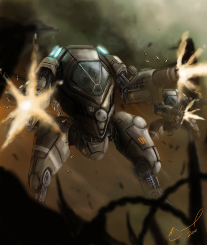 Tactica Battlesuit by Future-Infinity