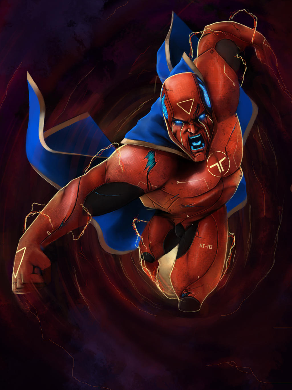Red Tornado by Future-Infinity