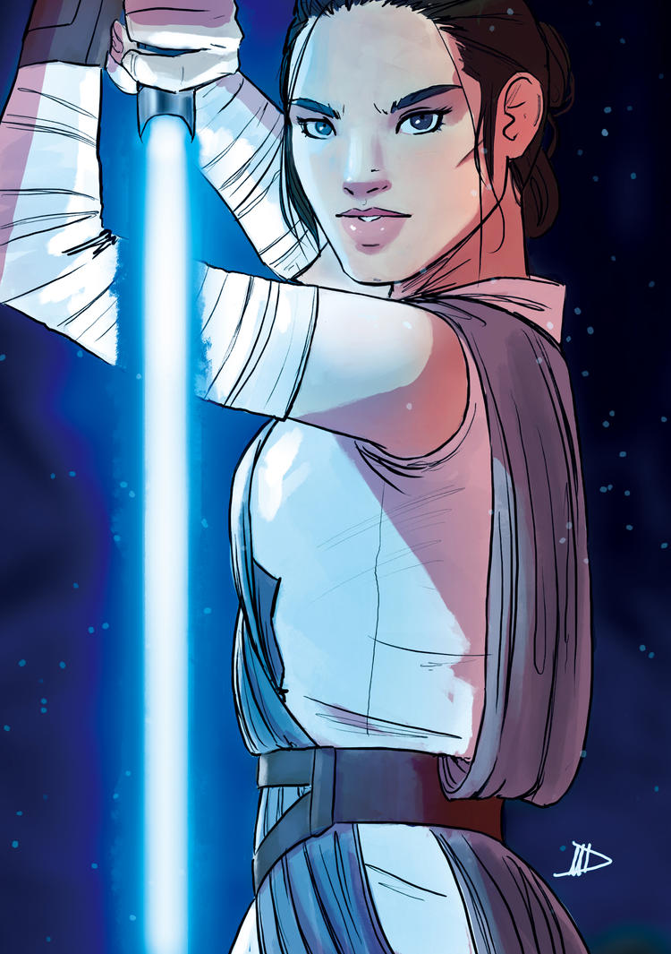 Rey 2016 SketchCard by Future-Infinity