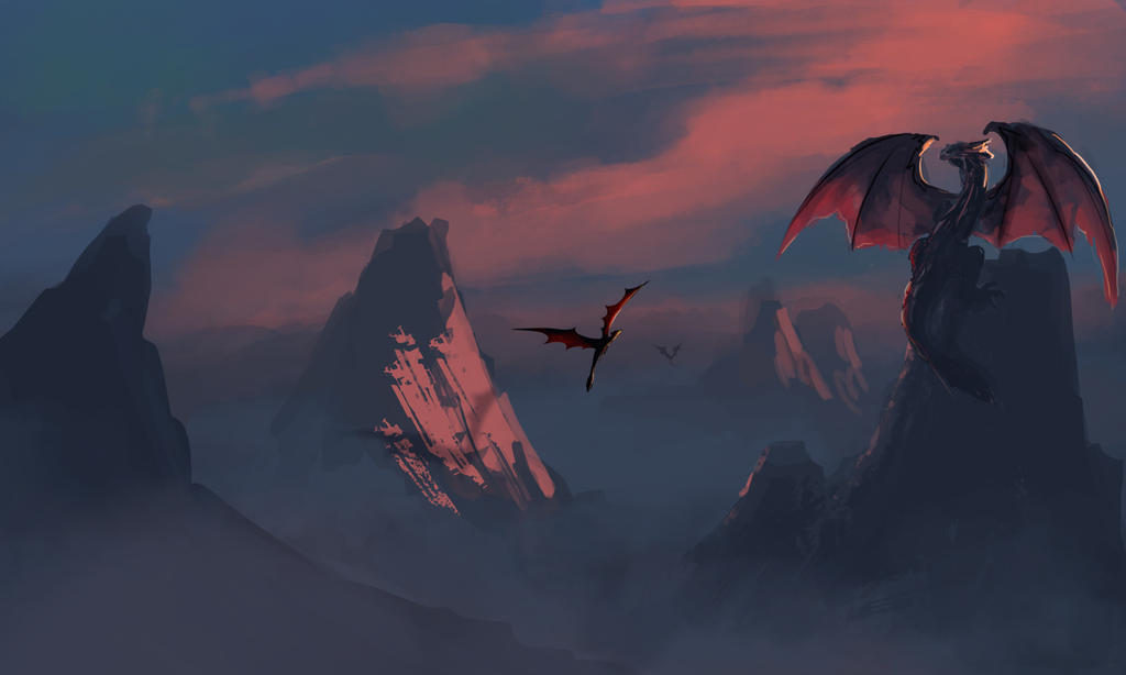 Dragons by Future-Infinity