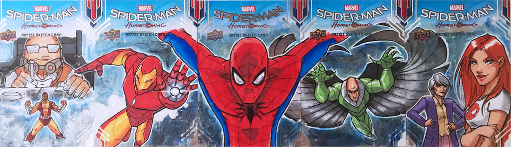 UD/Marvel Spiderman Homecoming Card Puzzle by Future-Infinity