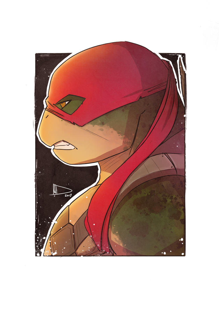Raph SketchCard 2017 by Future-Infinity