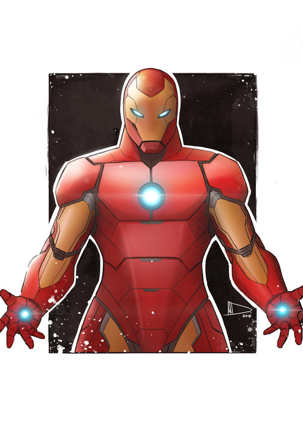 Iron Man by Future-Infinity