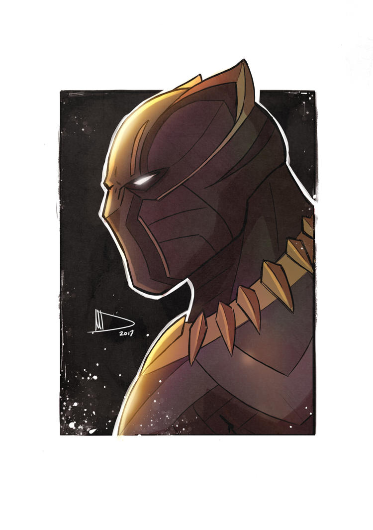 Black Panther by Future-Infinity