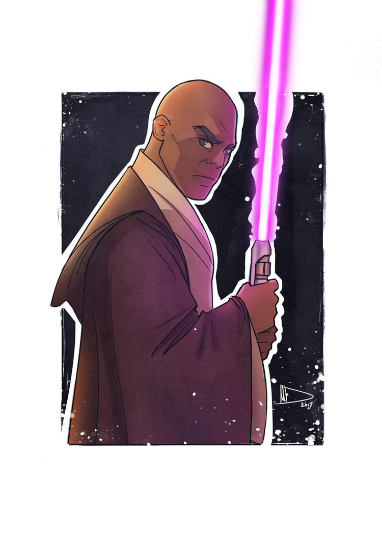 Mace Windu by Future-Infinity