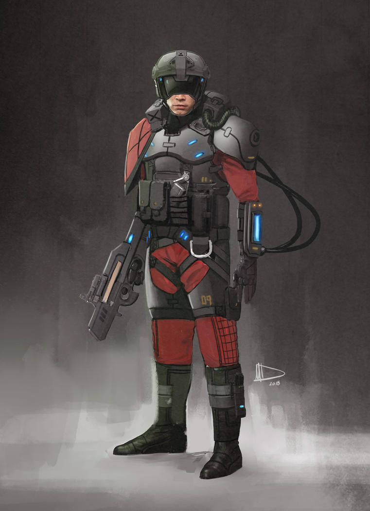 Soldier Concept by Future-Infinity