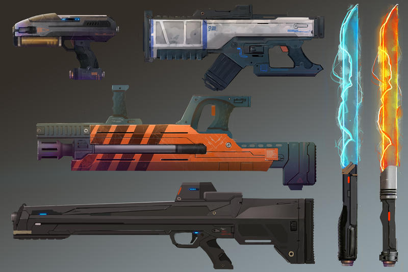Weapons Stash by Future-Infinity