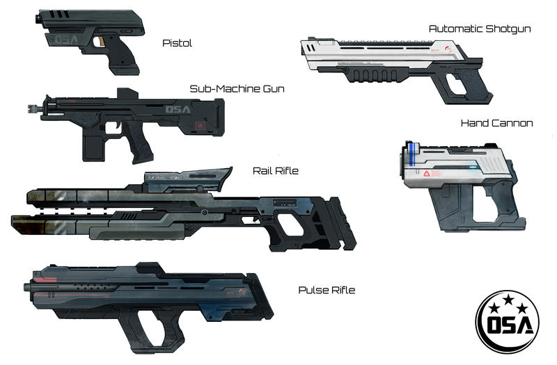 OSA Weapons by Future-Infinity
