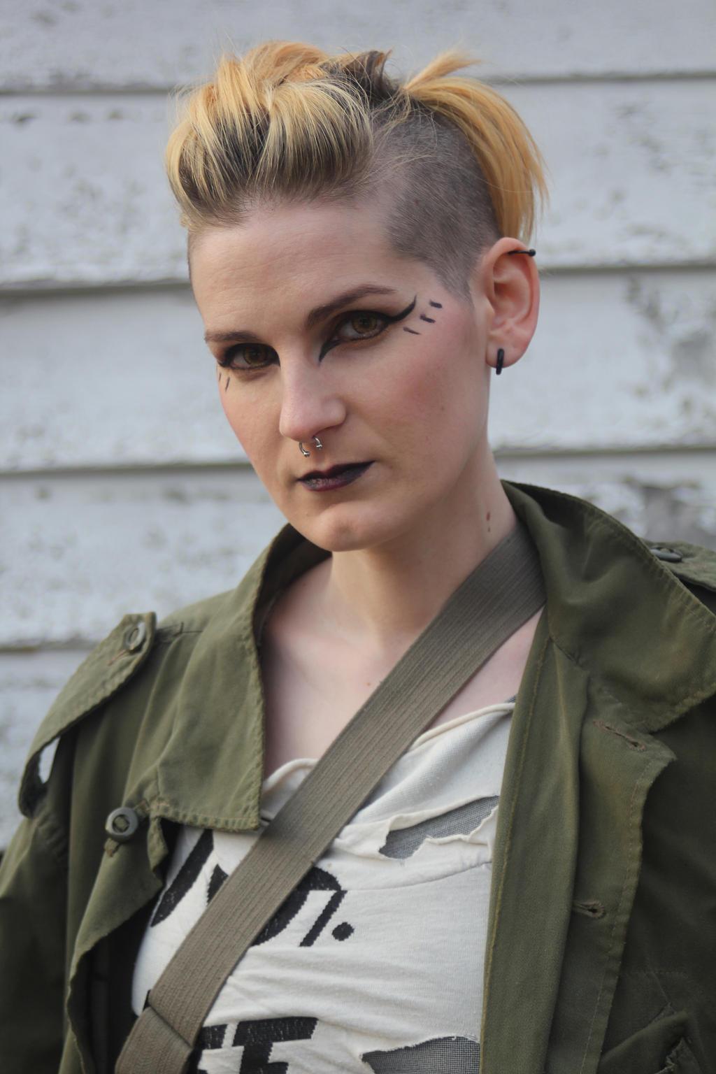 Makeup Post Youtube: Post Apocalyptic Makeup By AlliApocalips On DeviantArt