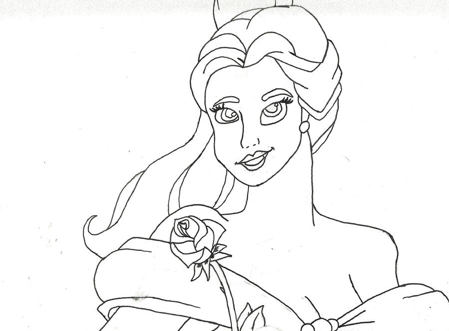 Belle Outline By Vickysfab