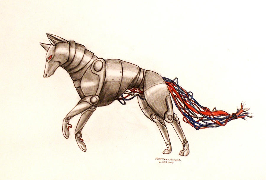 Robot Wolf By Kempping On DeviantArt