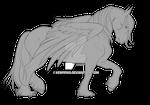 Draft Horse/Pegasus Template