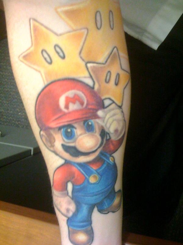 WIP Mario Sleeve 7 by melsea3108