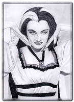 Lilly_Munster by TinasArtwork