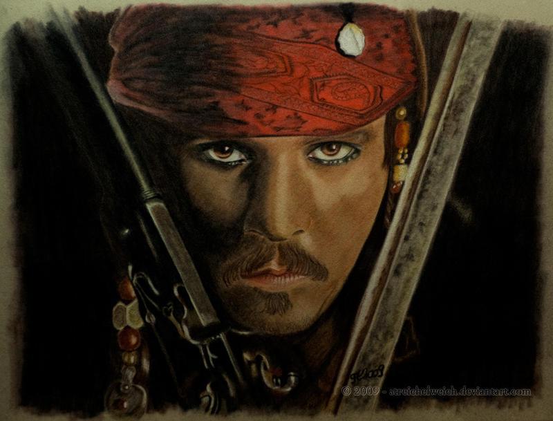 Jack Sparrow by TinasArtwork