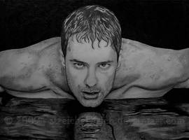The Swimmer by TinasArtwork