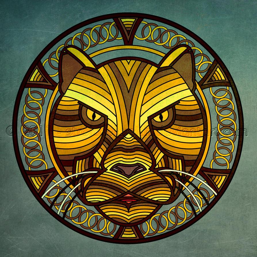 Mandala Lion by TinasArtwork