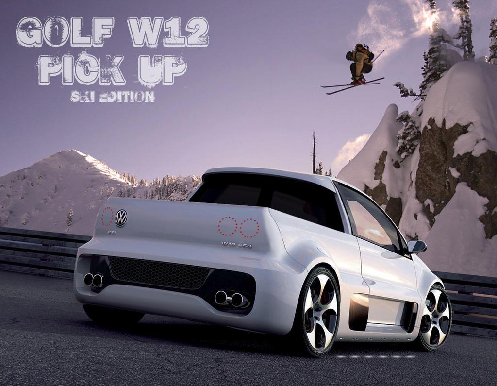 wolkswagen golf w12 by sergiotoribio on deviantart. Black Bedroom Furniture Sets. Home Design Ideas
