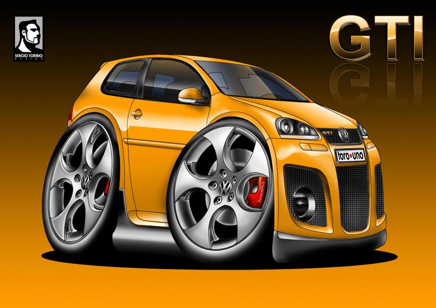 VOLKSWAGEN GOLF 5 GTI By Sergiotoribio