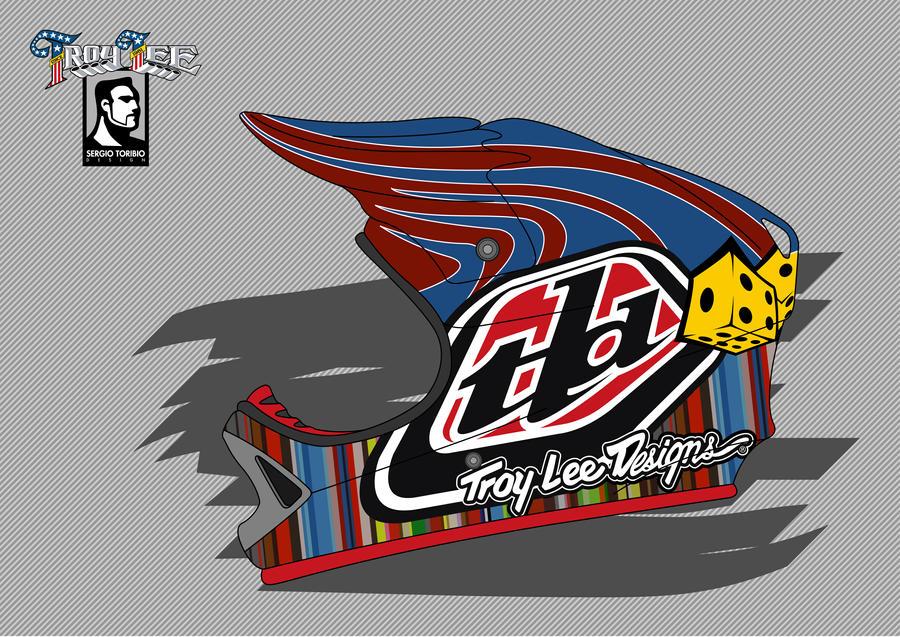 troy lee designs logo vector