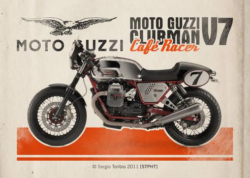 MOTO GUZZI CLUBMAN V7