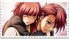 Ange and Battler Stamp by amaiawa