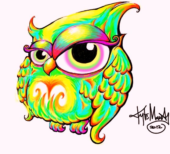 owl color by sommadat on deviantart