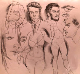 Little sketchdump by Vetyr
