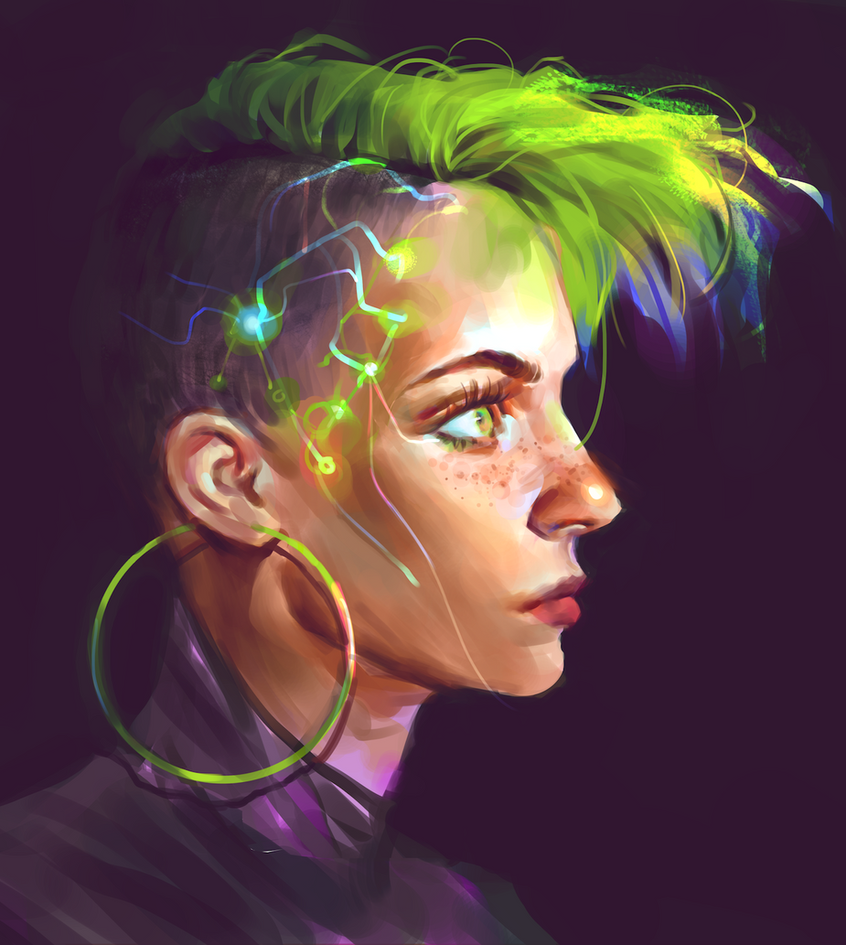 cyberpunk acid by Vetyr