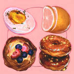 4 round foods