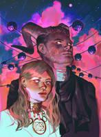 Gaze of two demons by Vetyr