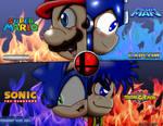 Super Smash Bros 4 MASCOTS