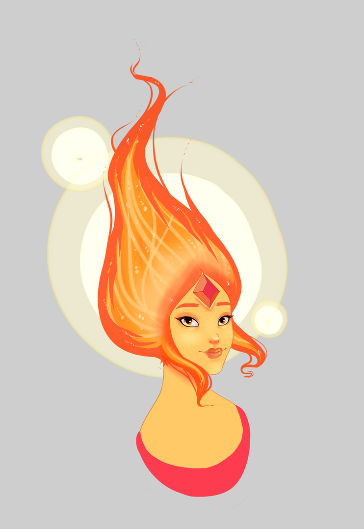 AT:Flame princess by Lolita198