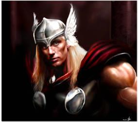 Son Of Asgard by rudyao