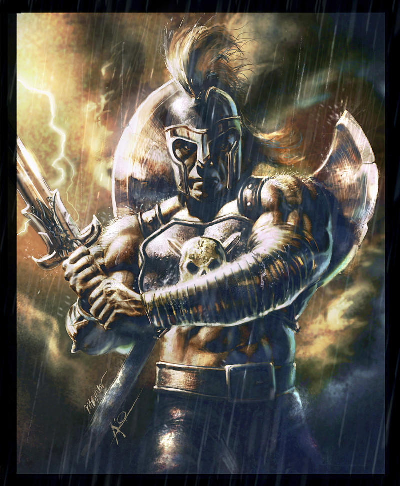 ARES GOD OF WAR by rudyao on DeviantArt