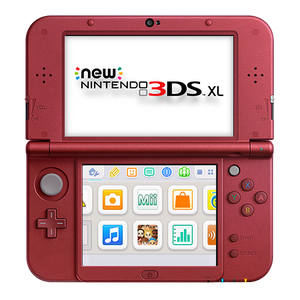 New Nintendo 3DS XL in New Red