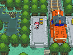 image Game depicted Platinum. Great Pokemon Marsh, by AllPokemonArts
