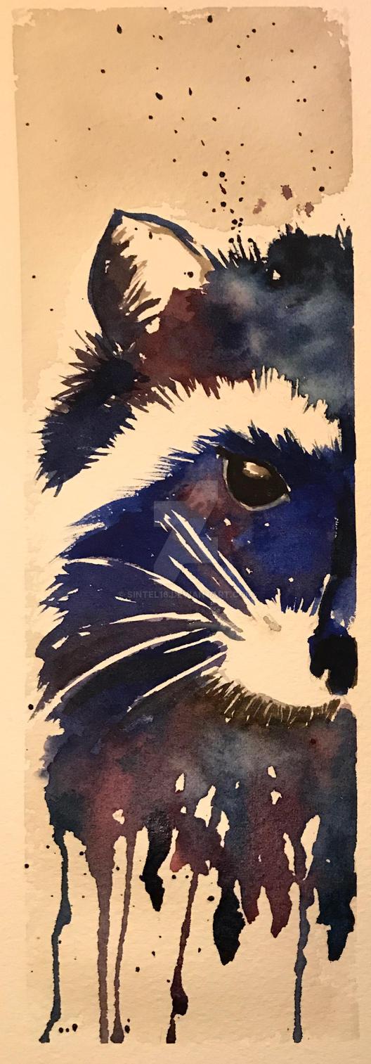 Racoon by sintel16